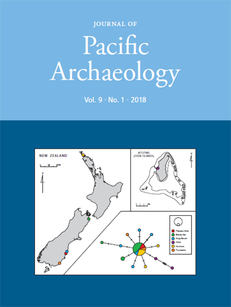 Journal of Pacific Archaeology volume 9 issue 1